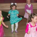 tanzen für ein Publikum