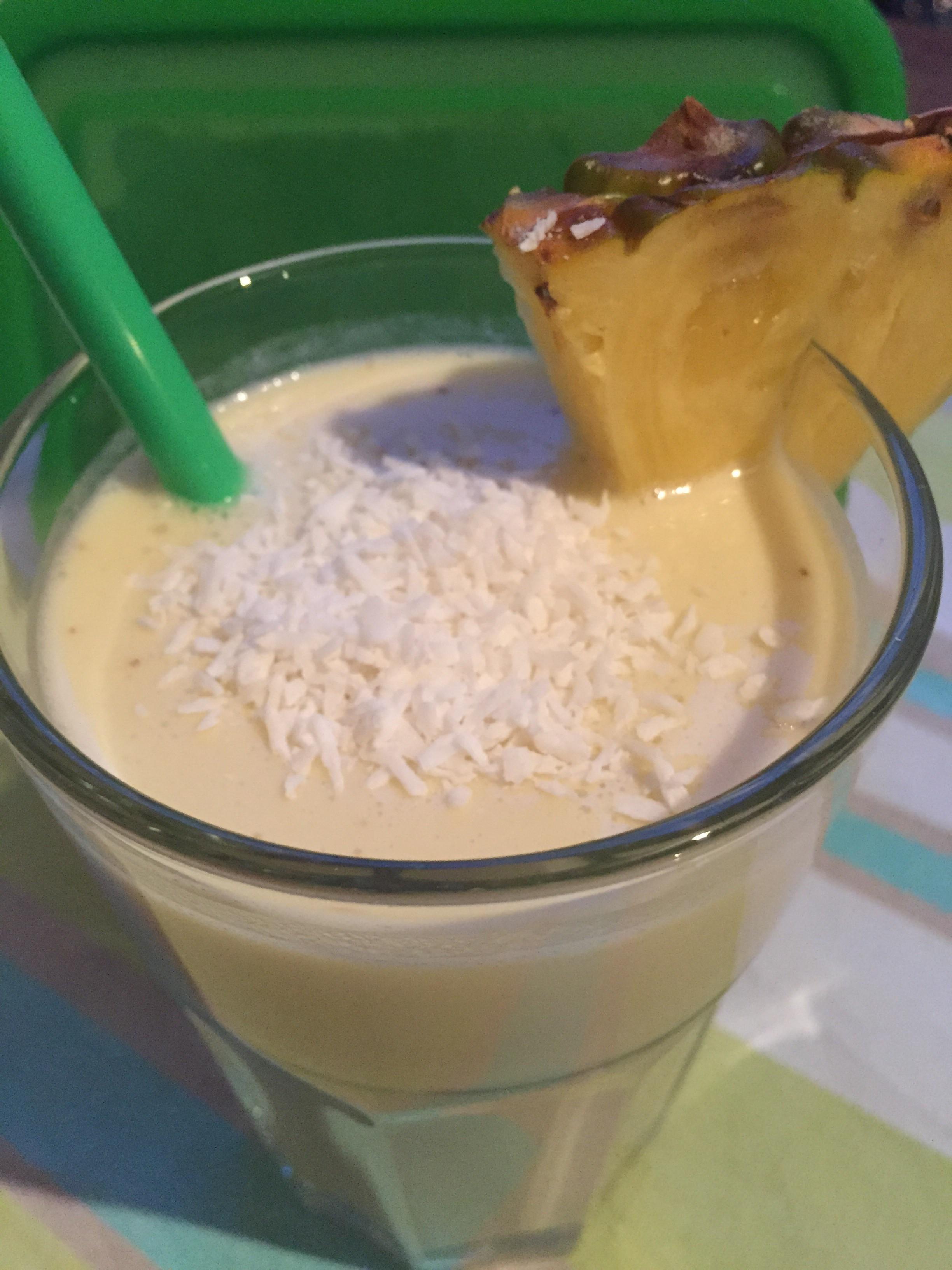 Smoothie Ananas-Kokos
