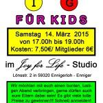 Bingo für Kids März 2015