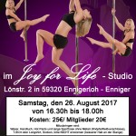 PoleDance-Workshop-Plakat