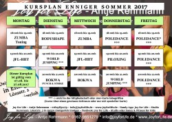 kursplan Enniger sommer 2017